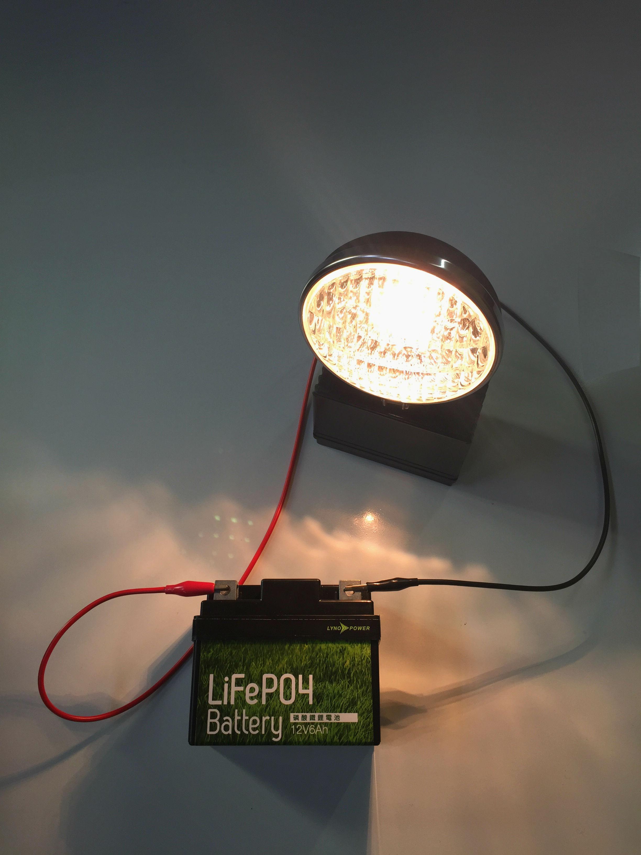 蘭陽能源12V6Ah鋰鐵備用電源應用