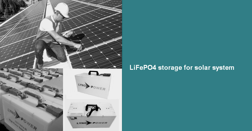 LiFePO4 Storage system for Solar/smart grid or industrial UPS
